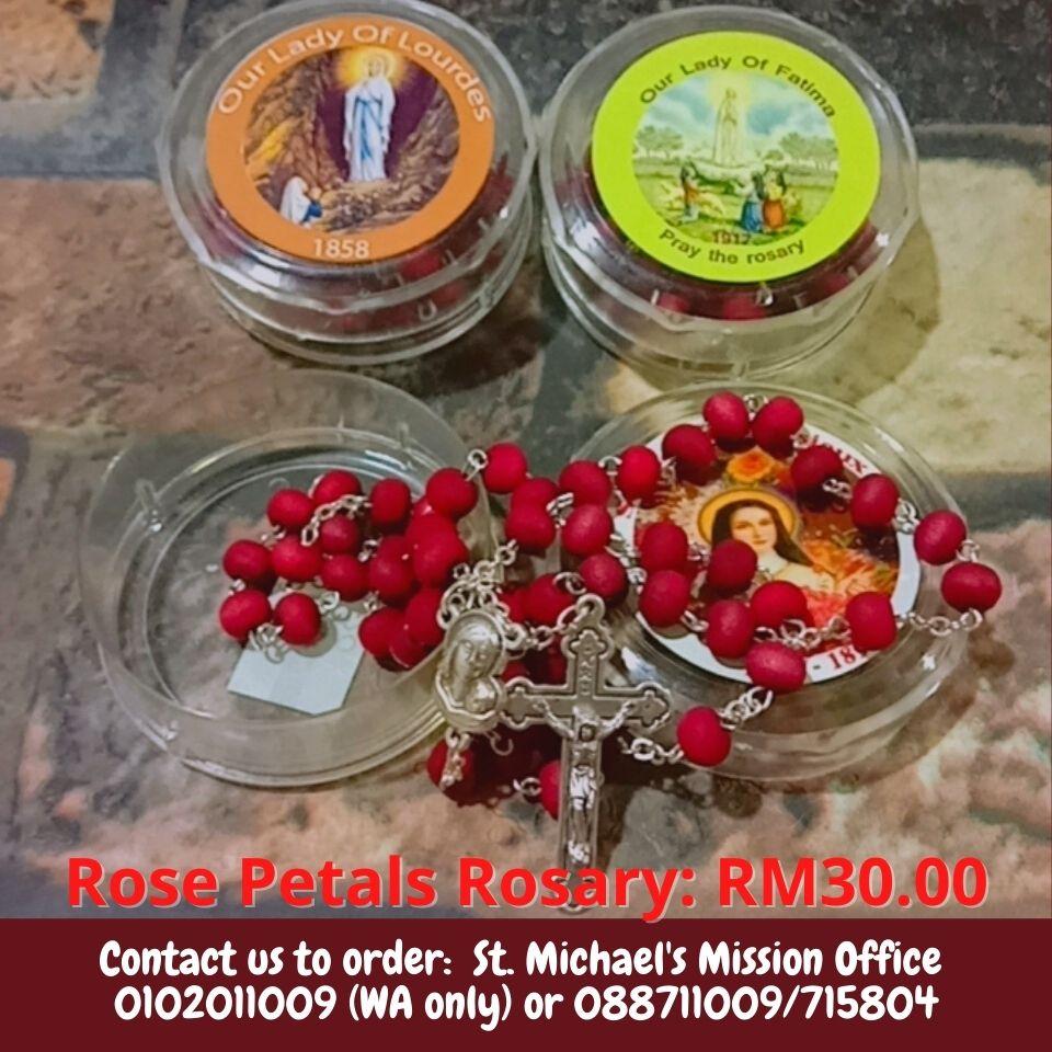 Rose Petals Rosary RM30.00