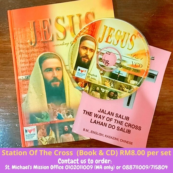 Station Of The Cross (Book & CD) RM8.00 per set