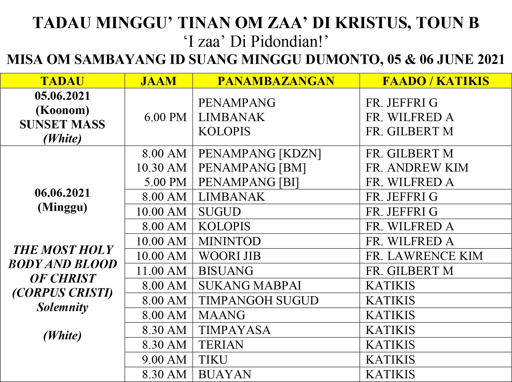 Jadual Misa_29 & 30 May 2021 (Trinity Sunday)-2